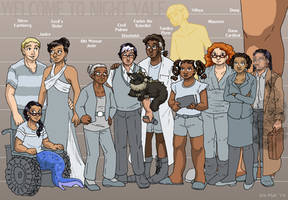 Night Vale Height Chart by ErinPtah