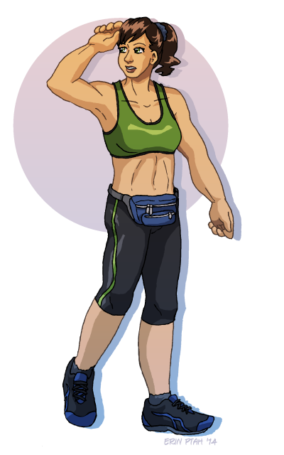 Jogging Delphine