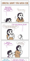 TJ 4koma 8: Careful What You Wish For