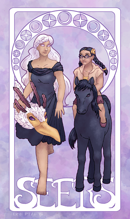 Sohvi Palmero and Janice Cabrera - The Seers by ErinPtah