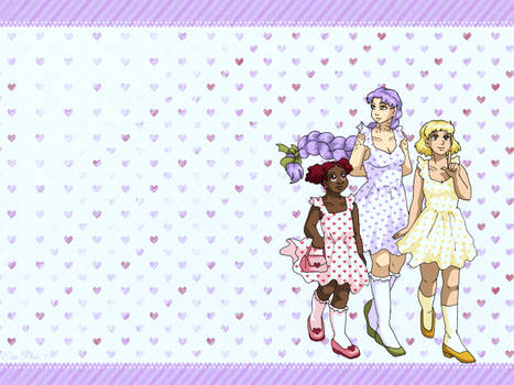 Wallpaper - Spring Dresses