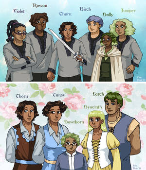 Leif and Thorn - Team and Family