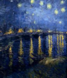 Van Gogh, Extra Starry by ErinPtah