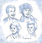 Sketch - Doctor faces