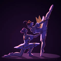 The Mahou Ballet by ErinPtah