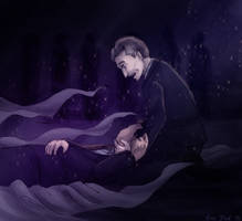 In the darkness with you by ErinPtah