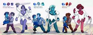 Ceannic Quartz Team Fusions