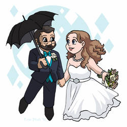 Reward Chibis - Wedding Dreamers by ErinPtah