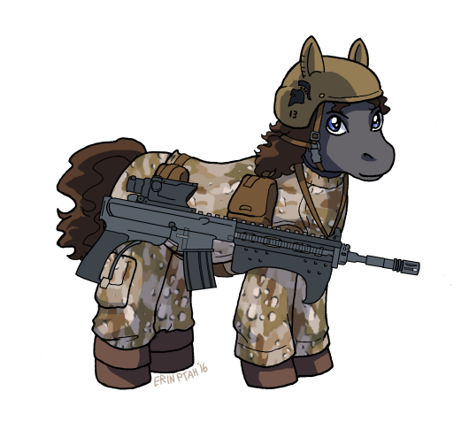 Commission - Canterlot Republic Trooper