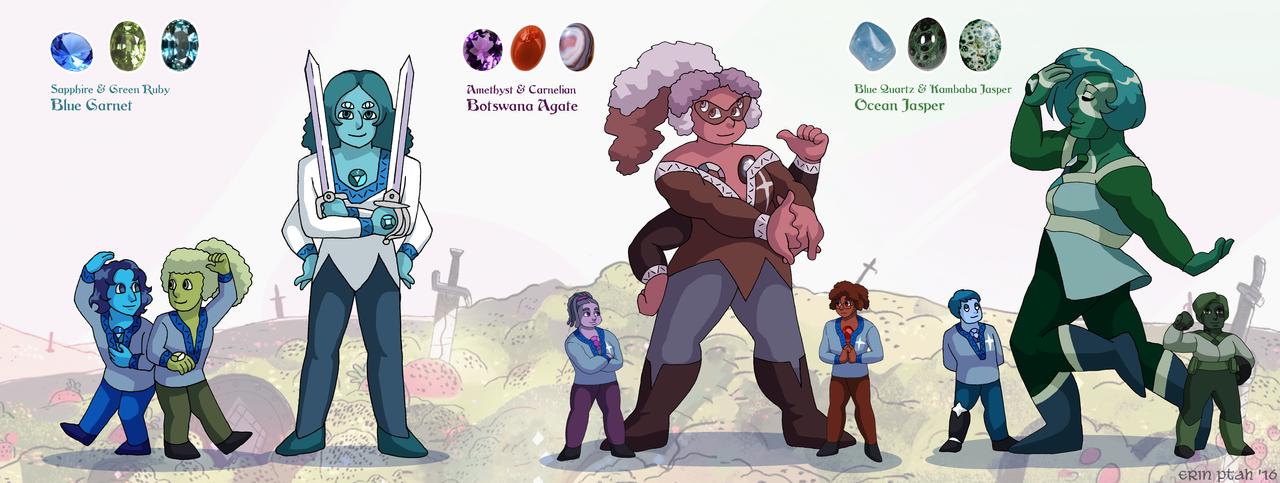 Ceannic Quartz Team Fusions 2 by ErinPtah