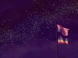 Wallpaper - Flagpole