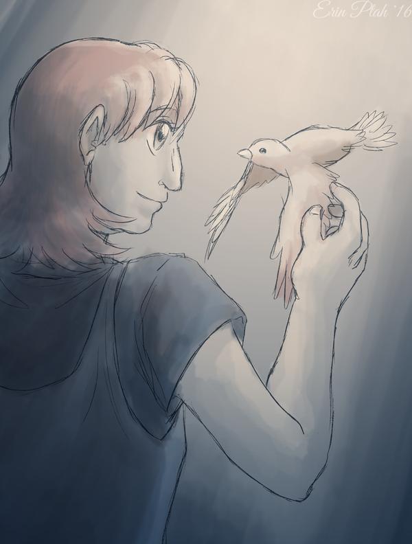 Sparrow x2 by ErinPtah