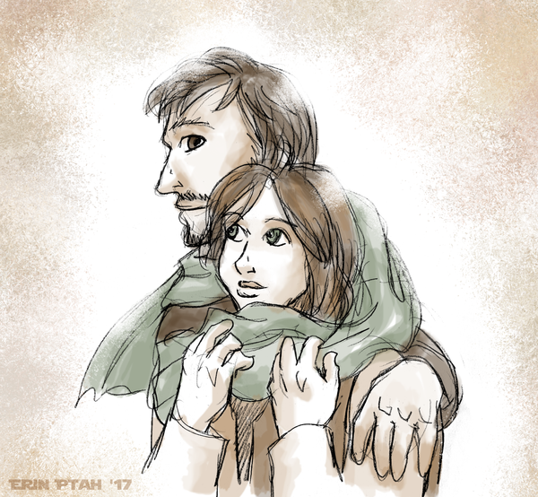 Scarf Sharing by ErinPtah