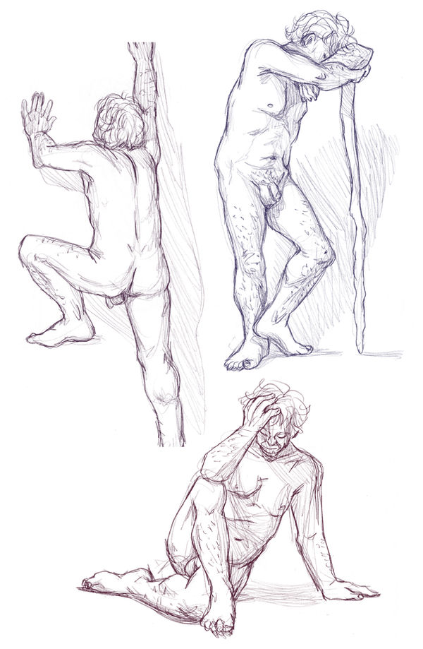 Figure drawings 5-10-17 -NSFW-