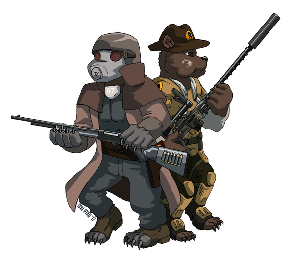 Commission - Diamond Hounds by ErinPtah