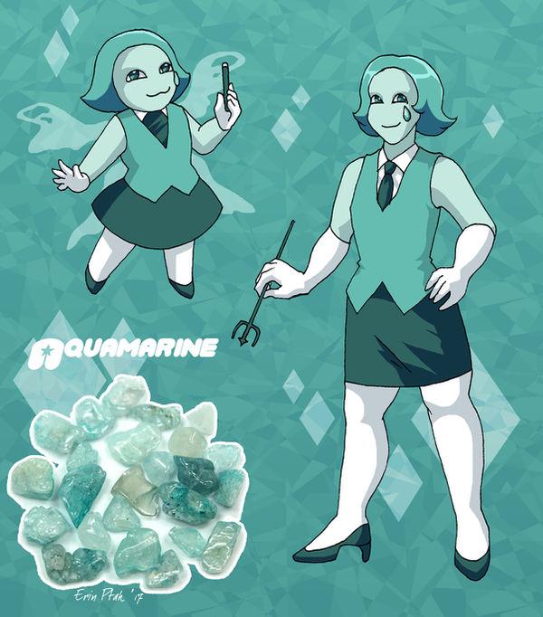 Mean Green Aquamarine