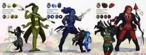 Snowflake Obsidian Fusions
