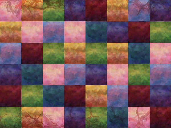 Wallpaper - Cloud Quilt by ErinPtah