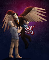 The Eagle and the Anchor by ErinPtah