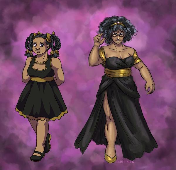 Dressed Up Violet