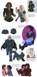 Leif and Thorn art roundup 2017 by ErinPtah