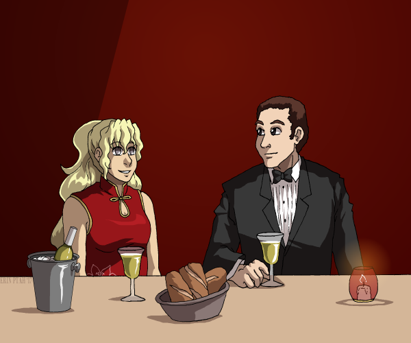 Commission - Restaurant by ErinPtah