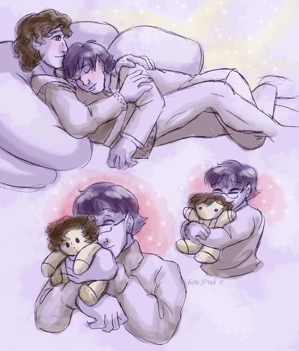 Plush Thorn cuddles by ErinPtah
