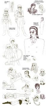 Vintage - Sailor Hellsing sketchpile