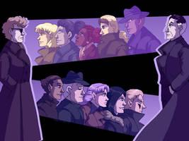 Wallpaper - Spotlight Noir by ErinPtah