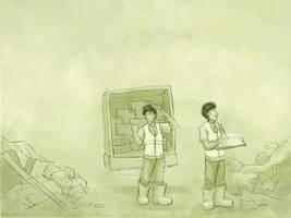 Wallpaper - Rebuilding by ErinPtah