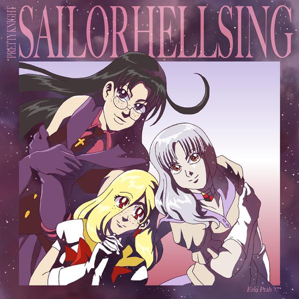 Ultimate Sailors Rip + Laura + Helena by ErinPtah