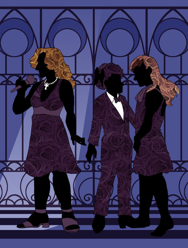 Silhouetted Singers