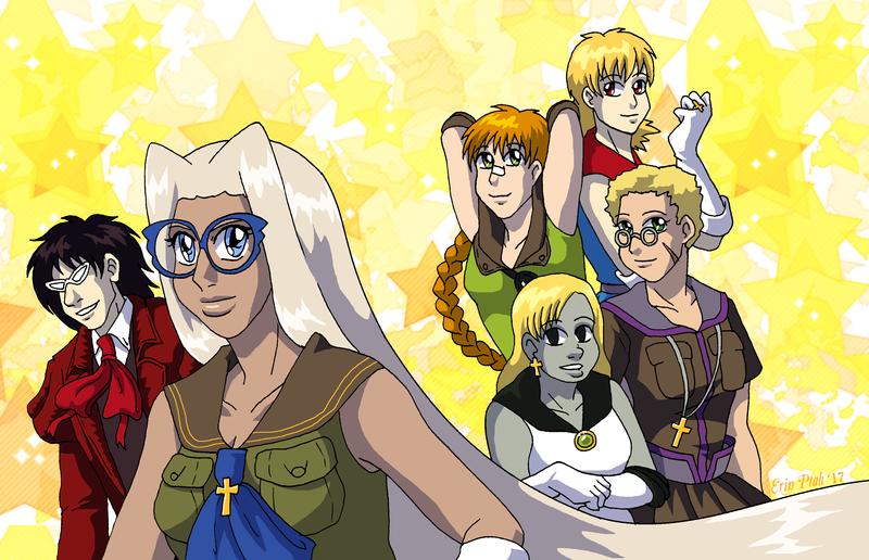 Sailor Hellsing season 1 by ErinPtah