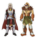 The Druid and the Paladin