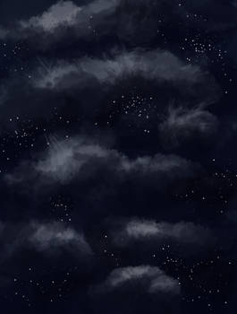 Stars and clouds -free-