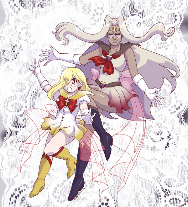 Super Sailors Hellsing by ErinPtah