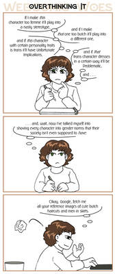 Webcomic Woes 6 - Stereotype threat