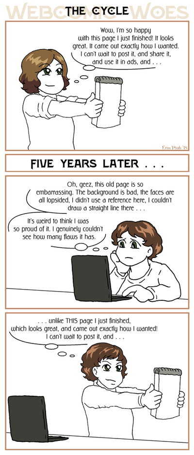 Webcomic Woes 7 - The cycle by ErinPtah