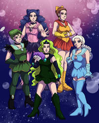 Senshi of the Outer Outer Solar System by ErinPtah