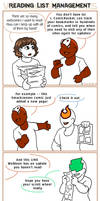 Webcomic Woes 11 - Hard Follows by ErinPtah