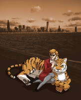 Chicago Tiger by ErinPtah