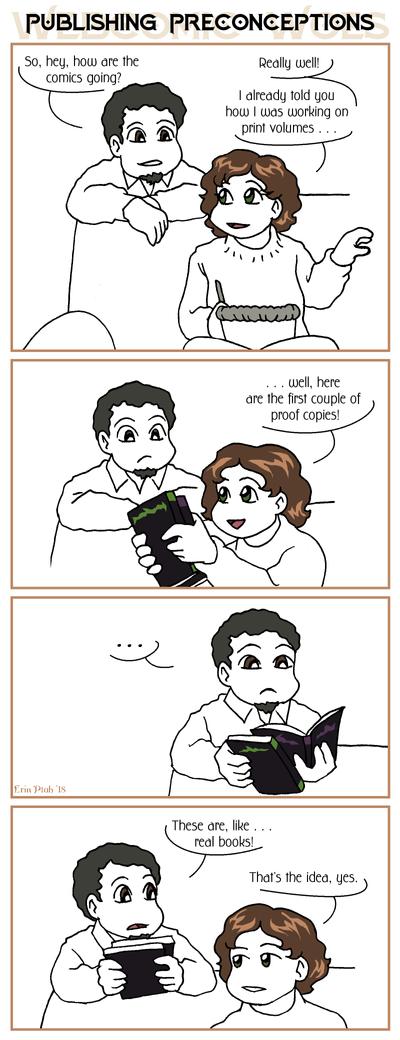 Webcomic Woes 16 - Seems legit. by ErinPtah
