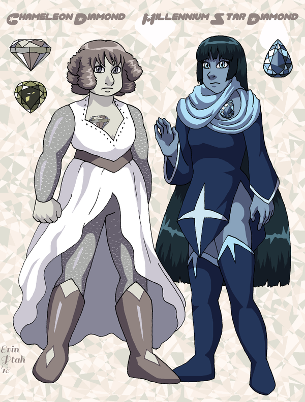 Millennium Diamonds by ErinPtah