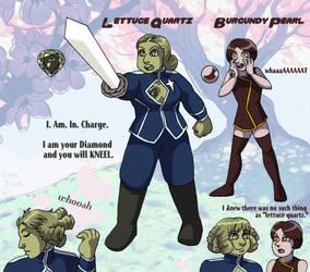 Lettuce Quartz by ErinPtah