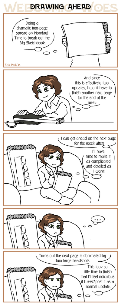 Webcomic Woes 18 - Saving some work by ErinPtah