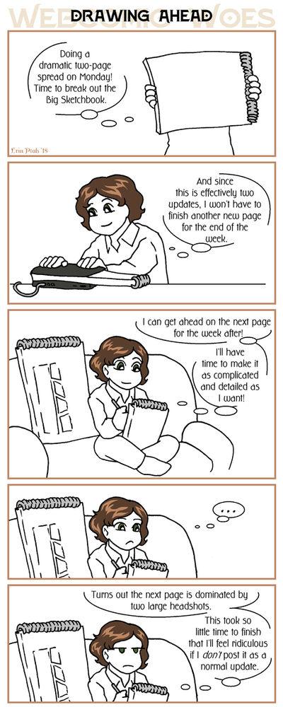 Webcomic Woes 18 - Saving some work by ErinPtah