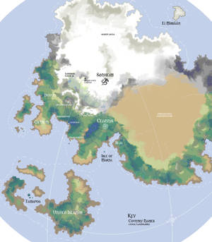 Leif and Thorn - World Map