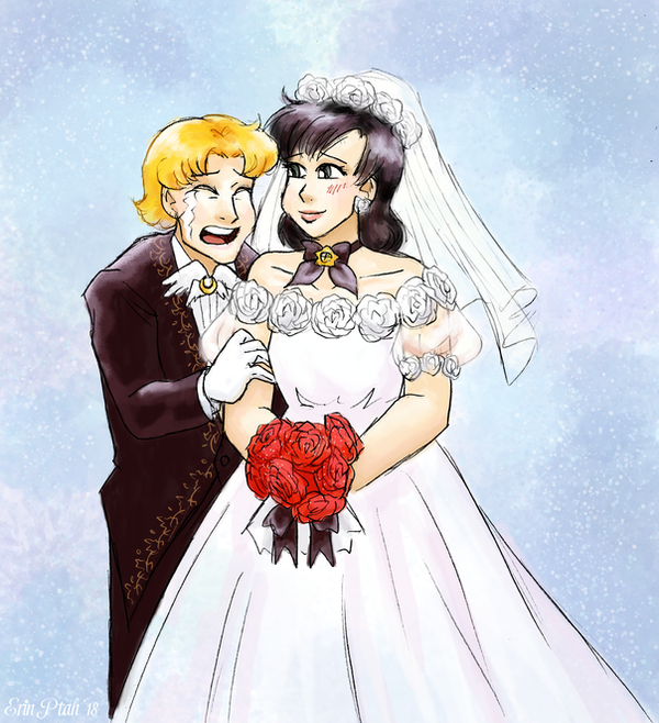 I Now Pronounce You Moon And Wife by ErinPtah
