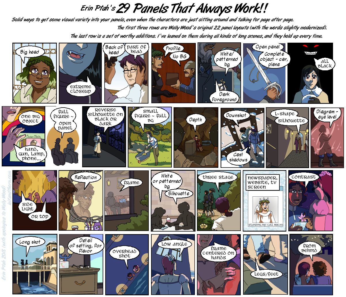 29 Panels That Always Work by ErinPtah