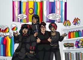 #GothPrideProblems by ErinPtah